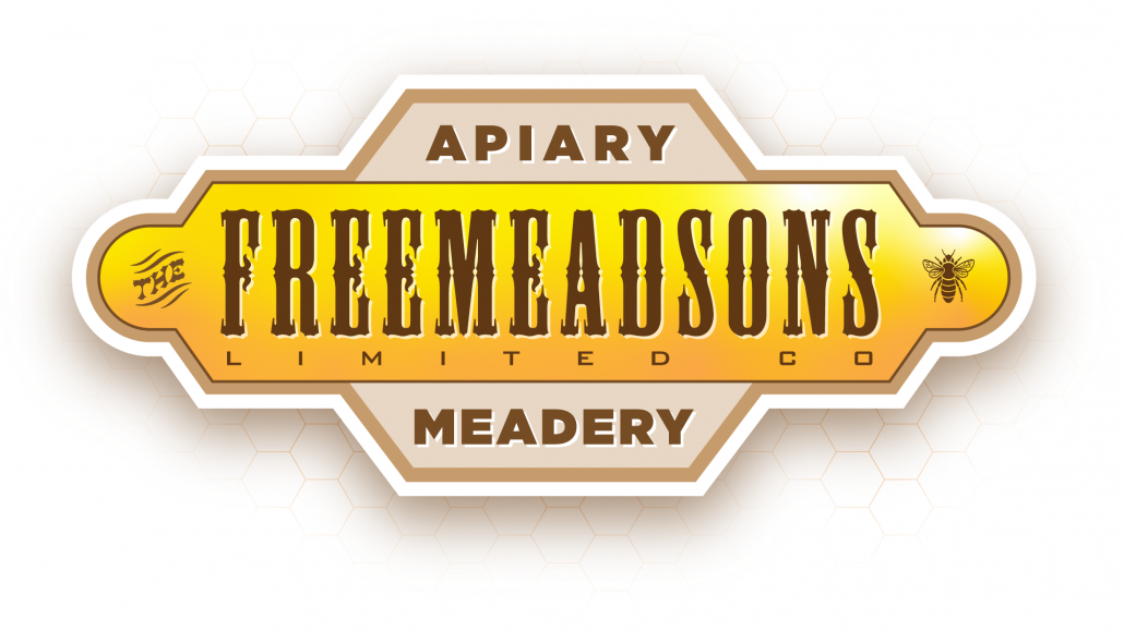 Freemeadsons logo using Mesquite font