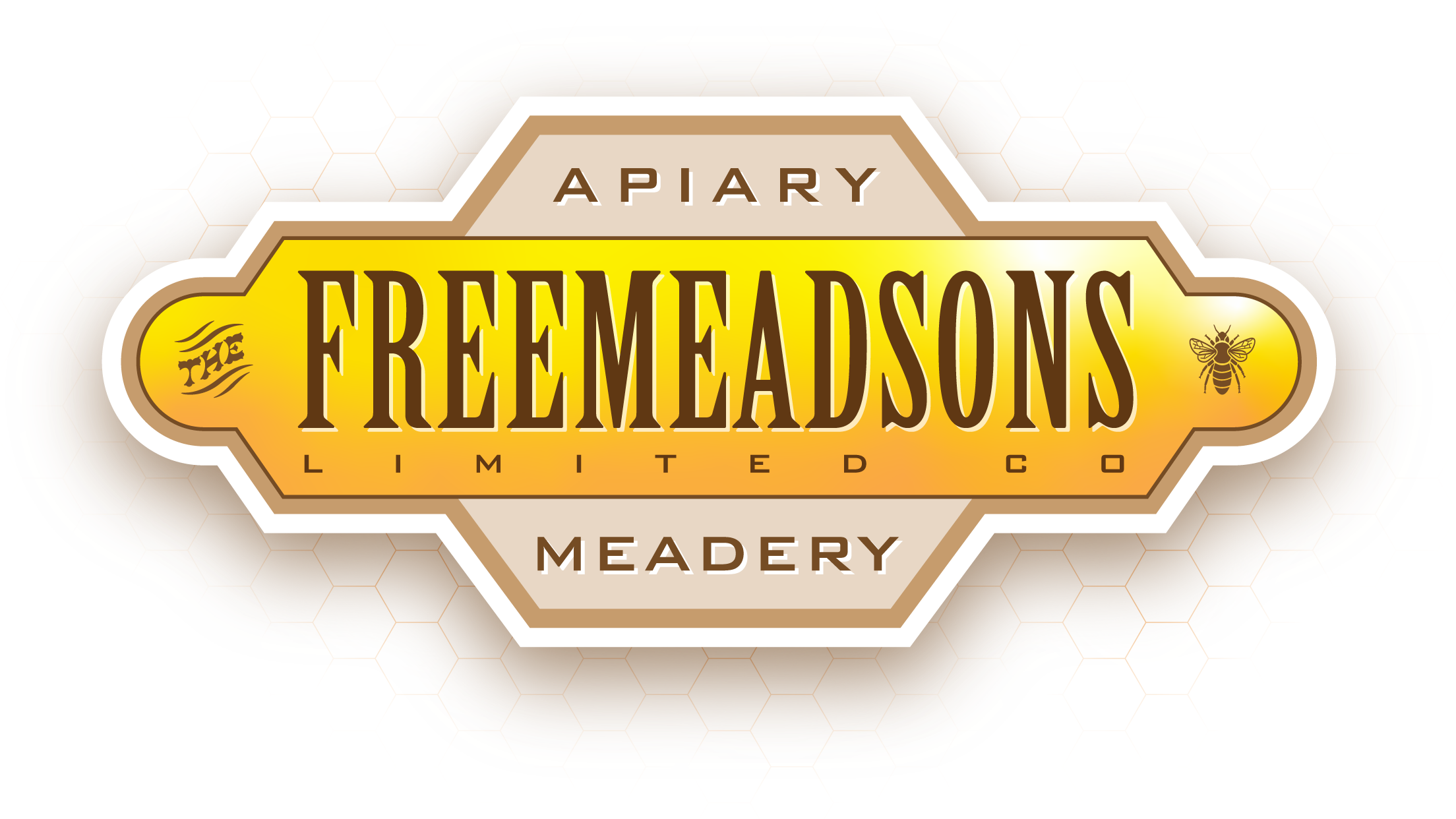 Freemeadsons logo using Birch font